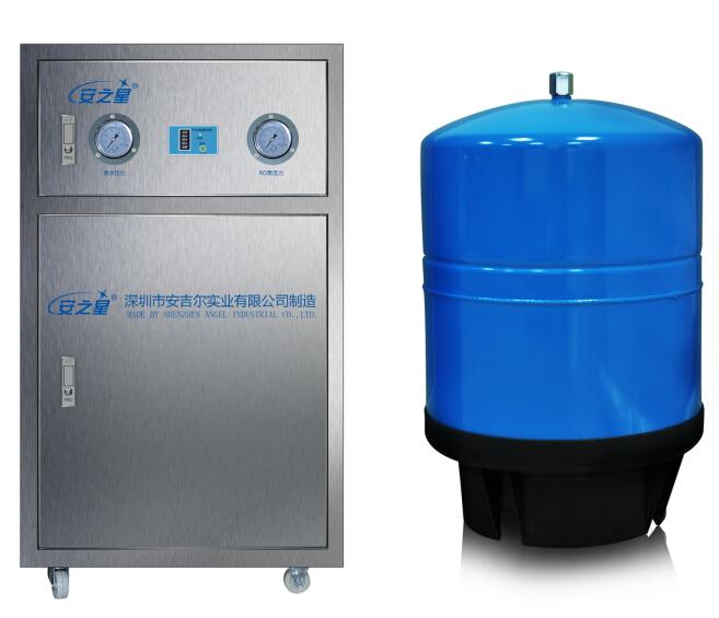 安之星中文显示型商务纯水机 AZX-2100-200B3